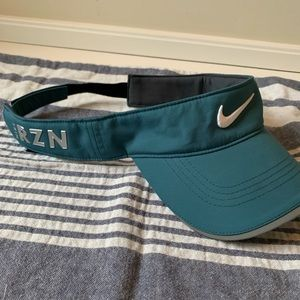 Nike Golf teal green visor